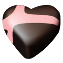 chocolate hearts 01 icon