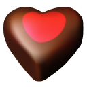 Chocolate-hearts-03 icon