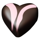 chocolate hearts 07 icon