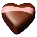 chocolate hearts 08 icon