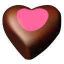 Chocolate hearts 11 icon