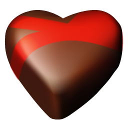 chocolate hearts 09 icon