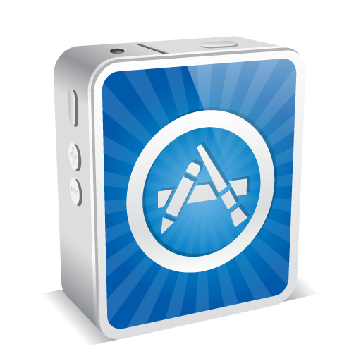 App Store Icon Iphone4 Mini Iconset Double J Design