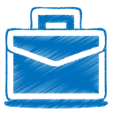 Blue-case icon