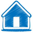 http://icons.iconarchive.com/icons/double-j-design/origami-colored-pencil/128/blue-home-icon.png