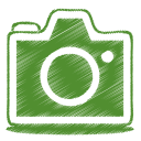 green camera icon
