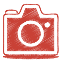 red camera icon