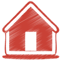 Red-home icon