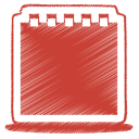 Red notes icon