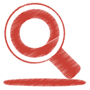 red search icon