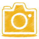 Yellow camera icon