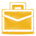 yellow case icon