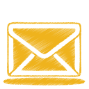 Yellow mail icon
