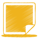 yellow picture icon