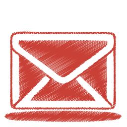 red mail icon