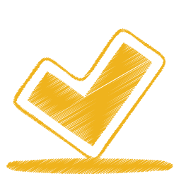 Yellow ok icon