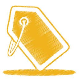 yellow tag icon