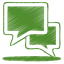 green talk icon