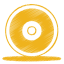 Yellow-cd icon