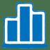 Blue-chart icon