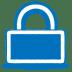 Blue-lock icon
