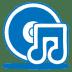 Blue-music-cd icon