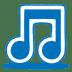 Blue-music icon