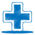 Blue-plus icon