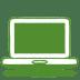 Green-laptop icon