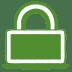 Green-lock icon