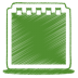 Green-notes icon