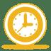 Yellow-clock icon