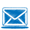 Blue-mail icon