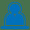Blue-user icon