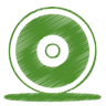 Green-cd icon