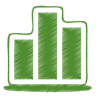 Green-chart icon