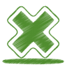 Green-cross icon
