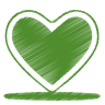 Green-heart icon