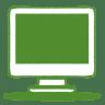 Green-monitor icon