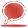Red-balloon icon