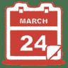 Red-calendar icon