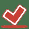 Red-ok icon