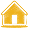 Yellow-home icon