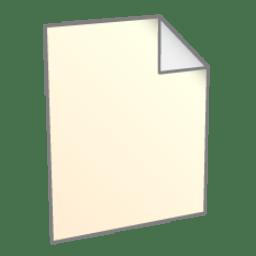 File New icon