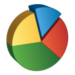 Pie Chart Icon | Ravenna 3D Iconset | Double-J Design