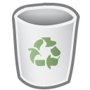 bin empty icon
