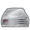 scribble hard driver icon