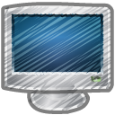 Scribble monitor icon