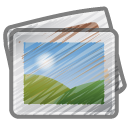 Scribble photos icon