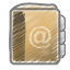 Scribble-address-book icon
